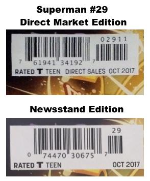Find newsstand variants on eBay